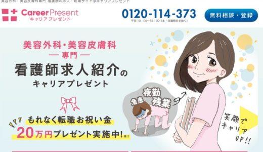 美容外科・美容皮膚科への復職は「キャリアプレゼント」への登録がおススメ!